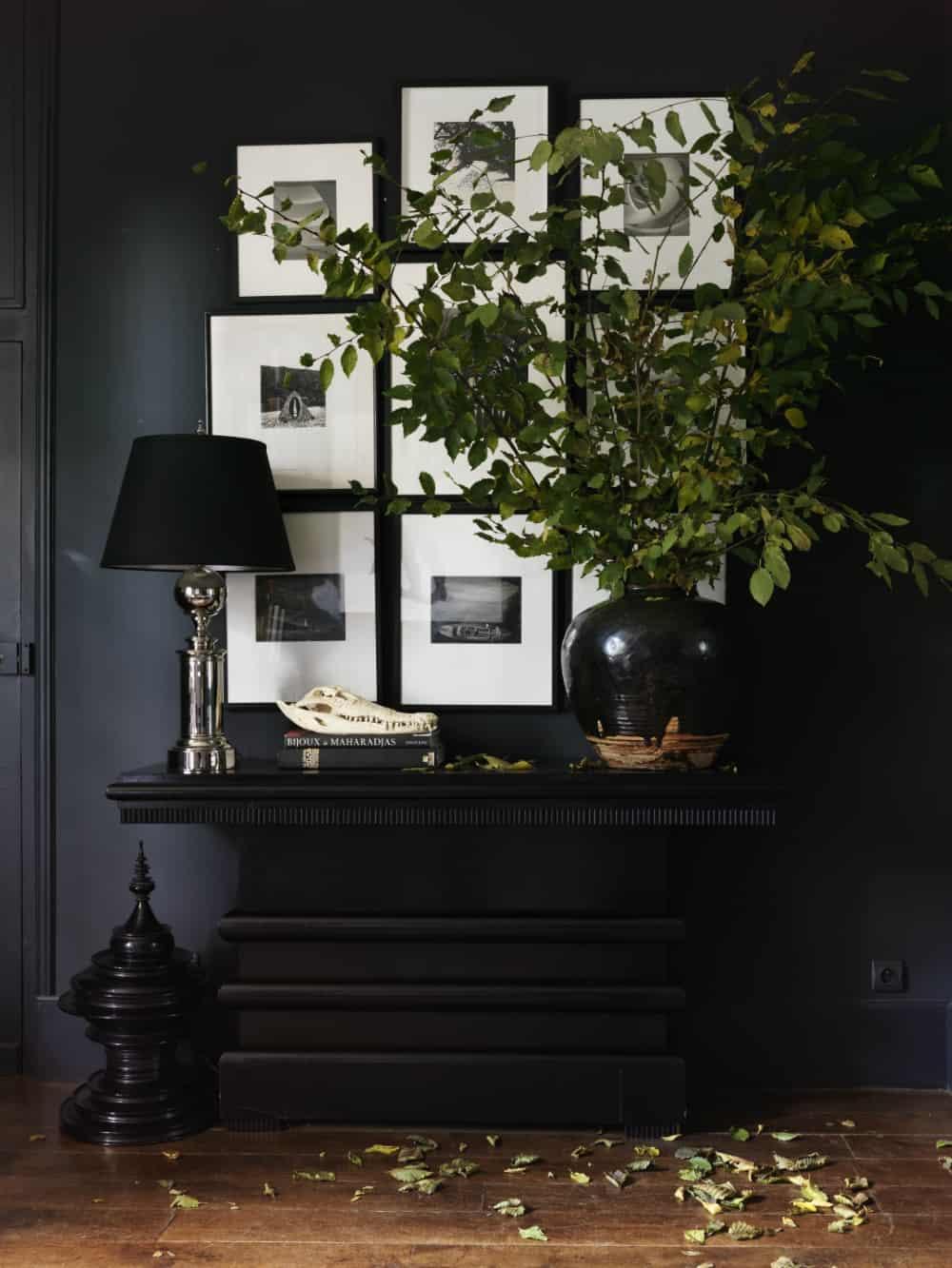 Dark hallway by Erin Swift