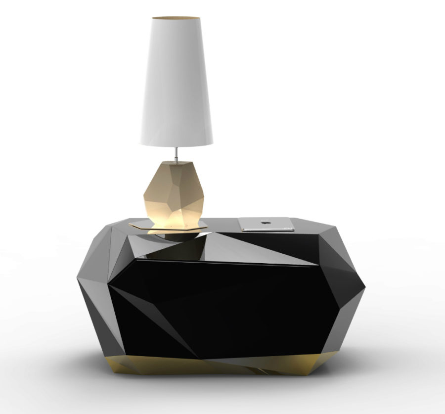 Diamond nightstand by Boca do Lobo