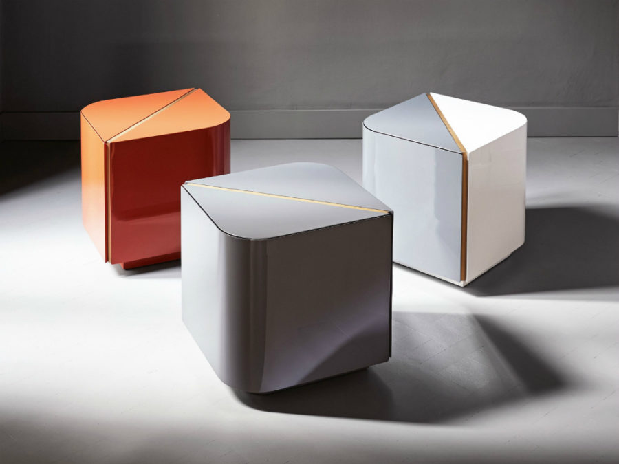 Dimitri nightstand by Meridiani