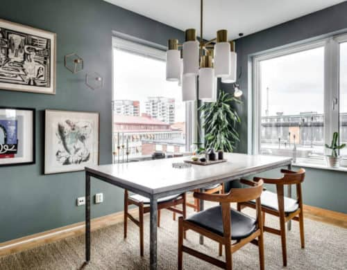 Stylish in Stockholm: Contemporary Apartment With Flair by Alexander White