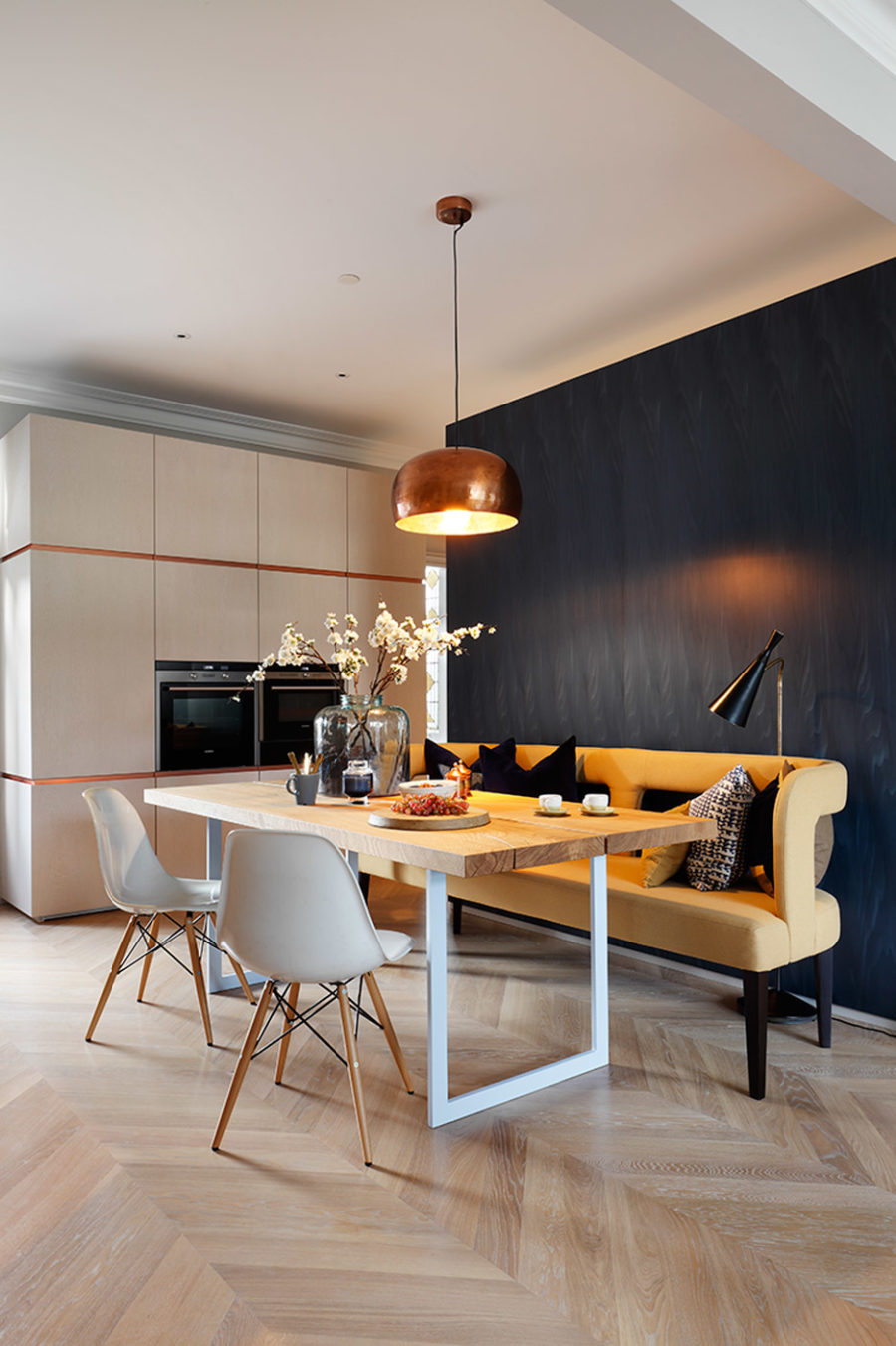 Dining area by MWAI