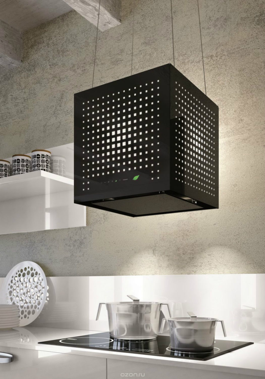 Falmec's Rubik 43 kitchen hood
