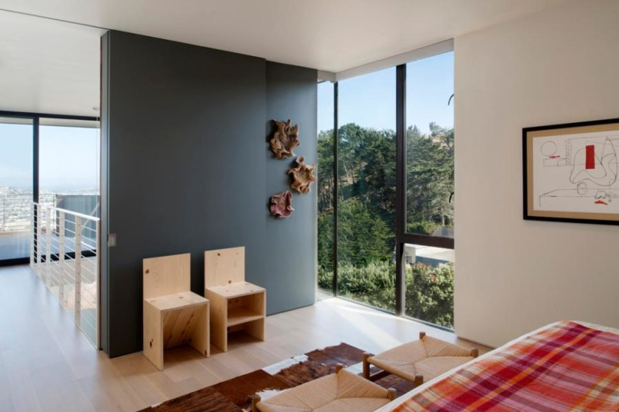 GB Architecture house with 3D awall art