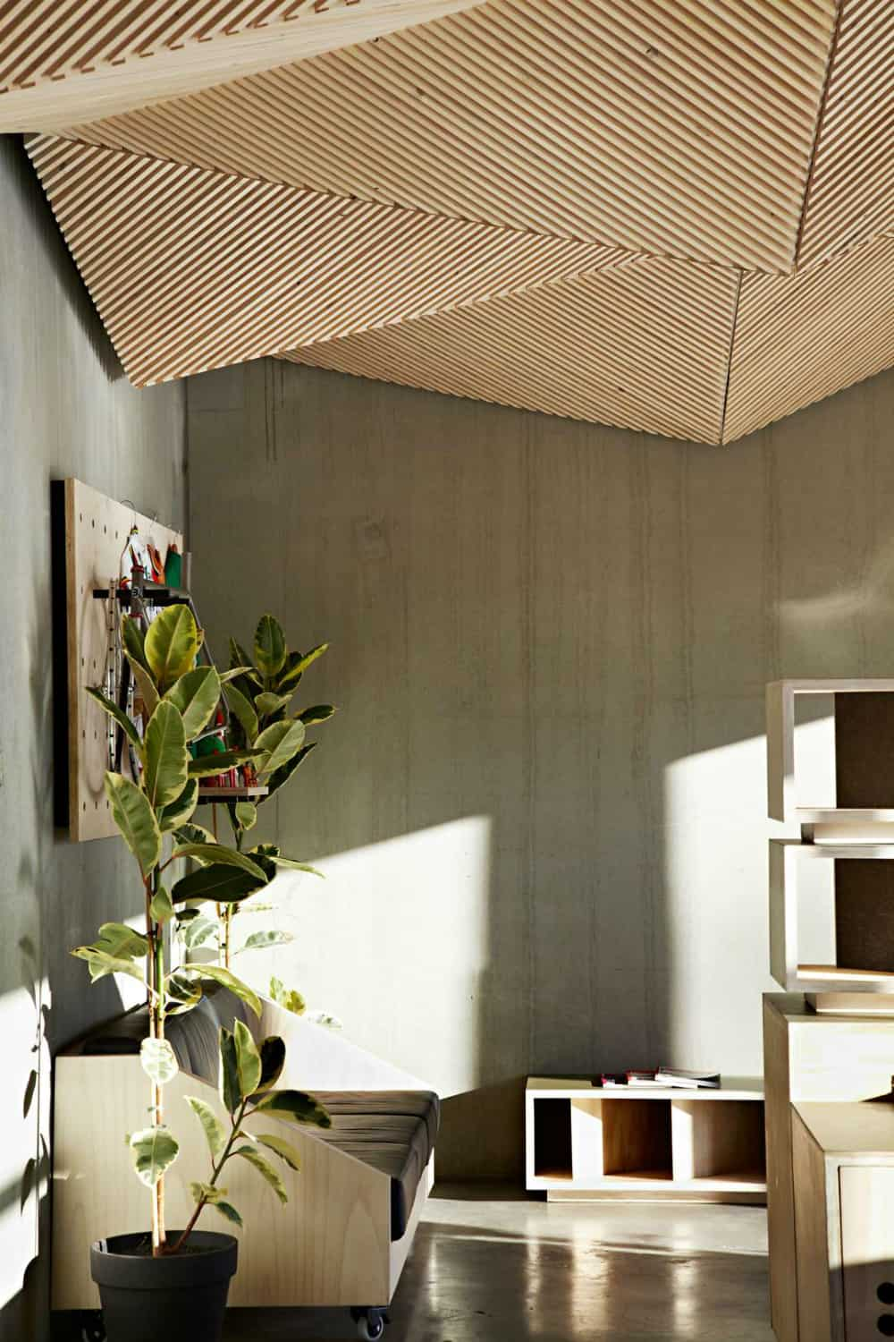 Geometric ceiling by Assemble
