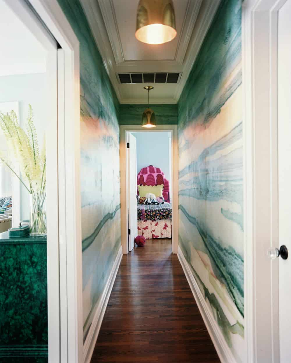 Hallway design by Wendy Schwartz Design