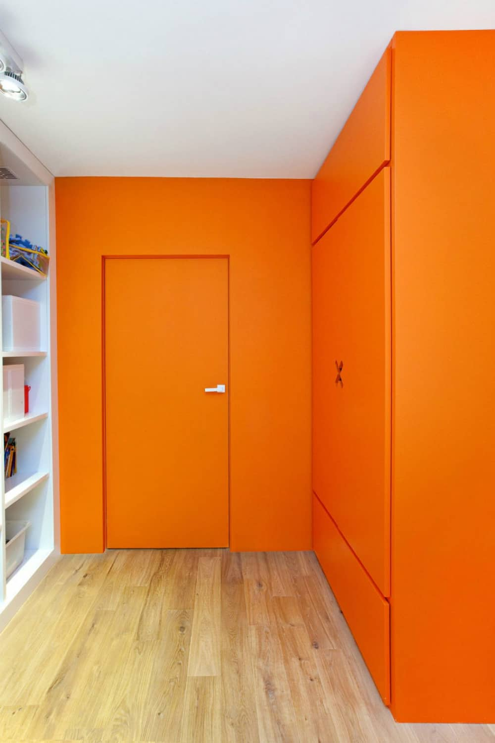 Kids room comes in color