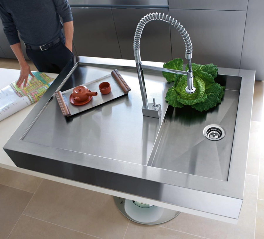 kitchen design sink modern kitchen sink designs that look to attract attention 823