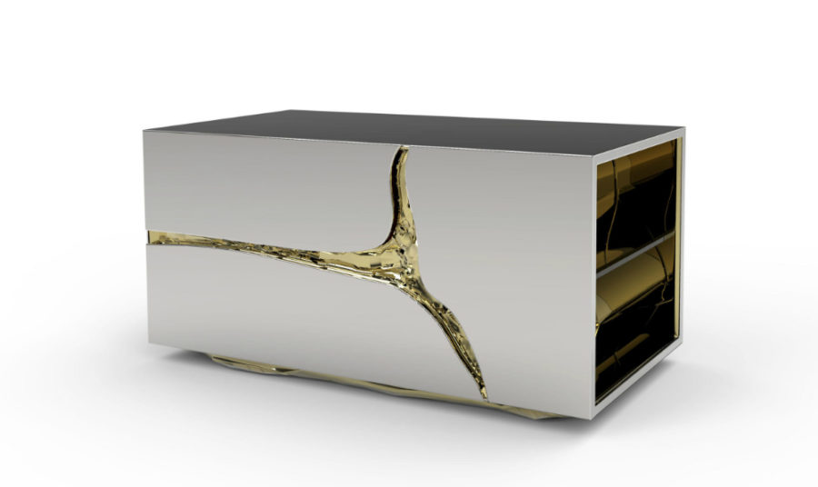 Lapiaz nightstand by Boca Do Lobo