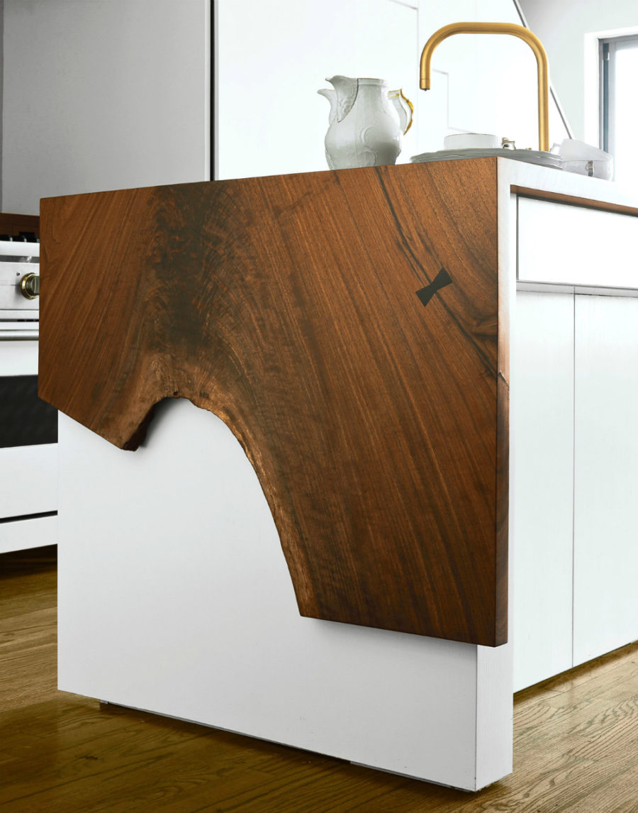 Live Edge kitchen island