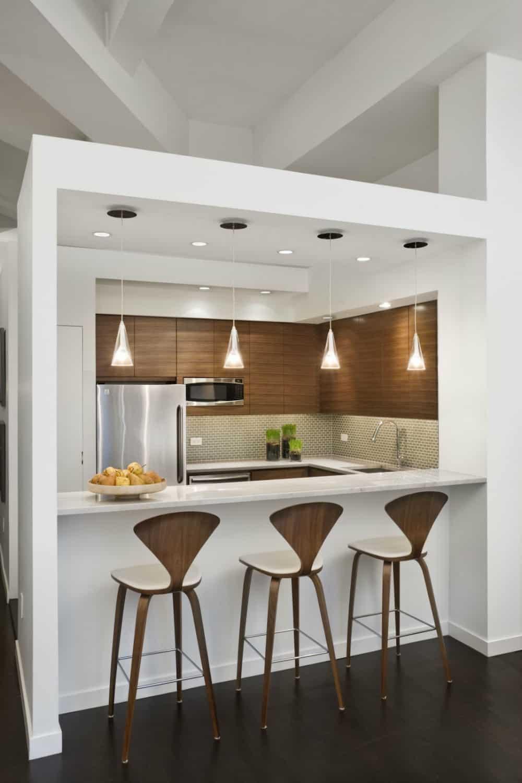 Loft apartment kitchen