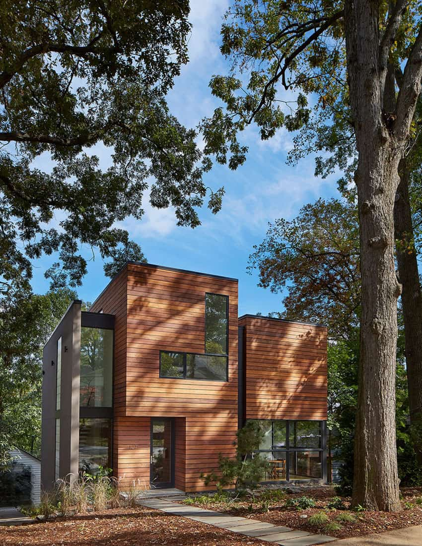 Lyon Park House Robert M. Gurney Modernizes a Private Residence in Virginia