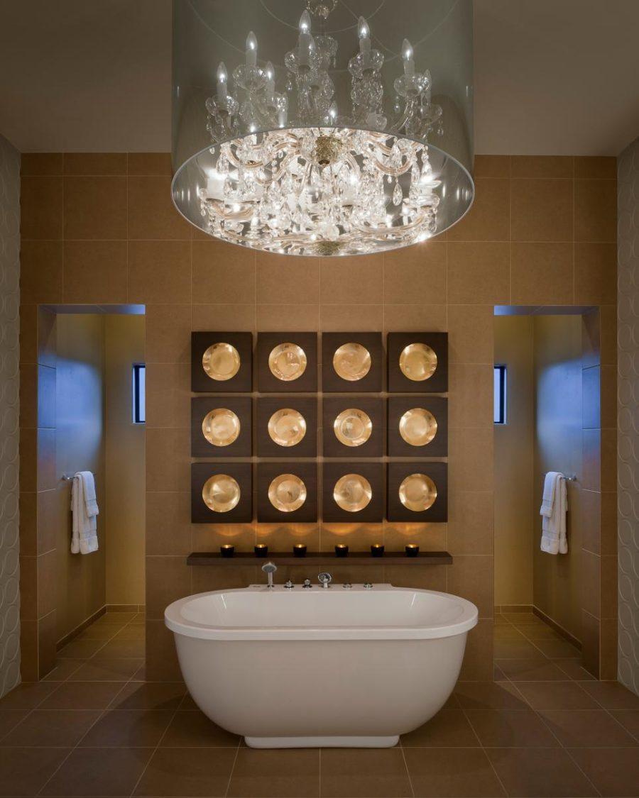 Master bath by Angelica Henry Design