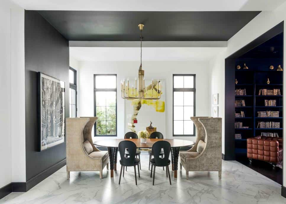 Mirador Group dramatic dining room