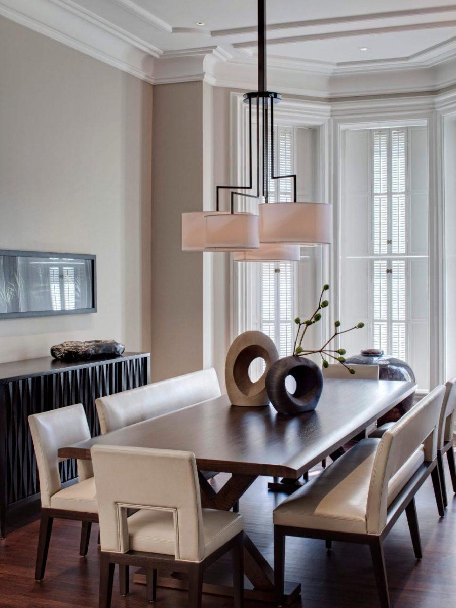 Modern dining seats