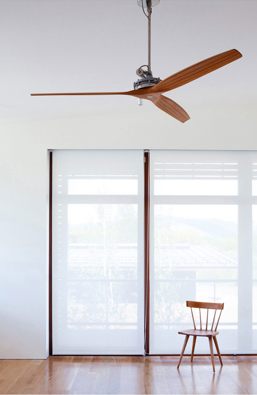 Modern window treatments allow more privacy in the modern home
