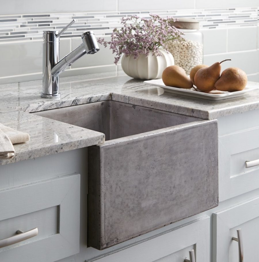 View in gallery native trails concrete sink