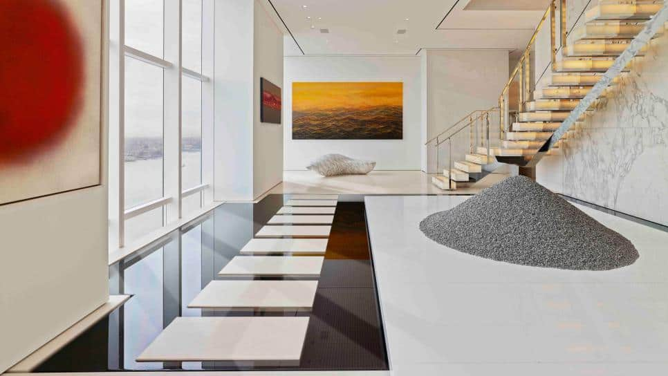 ODA's NYC Penthouse hall