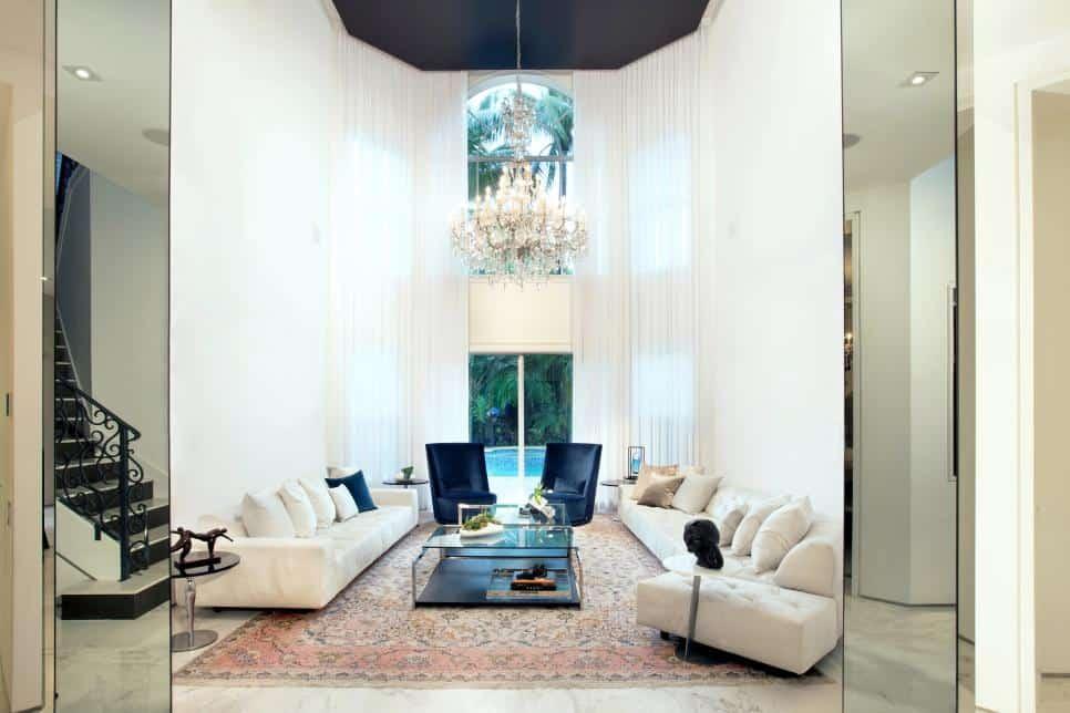 Octagonal high ceiling by DKOR Interiors.jpg