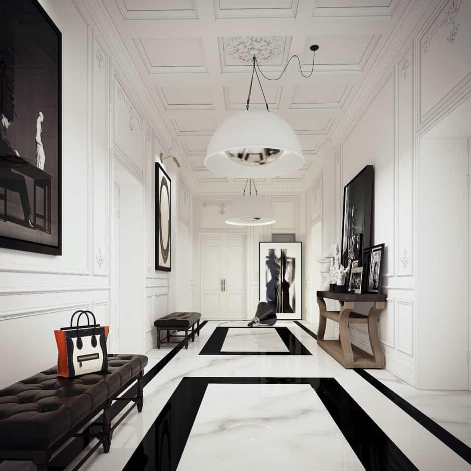 Paris Apartment by Ando Studio