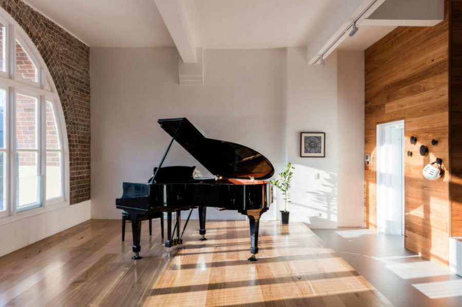 Plenty of space to fit a grand piano