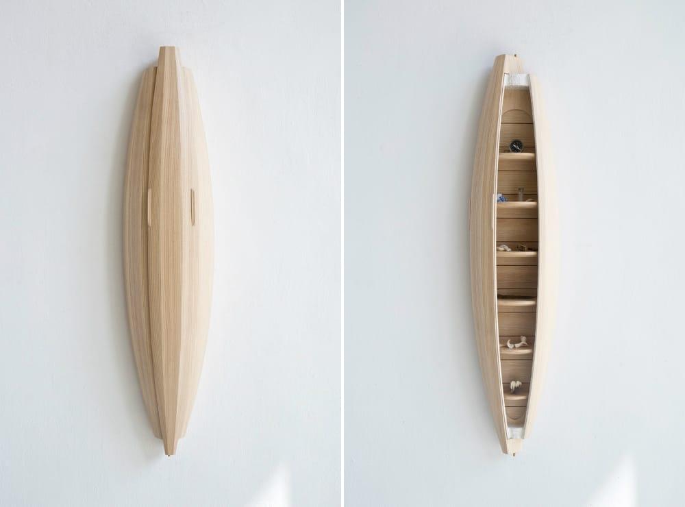 Sculptural cabinet by Jeremy Zietz