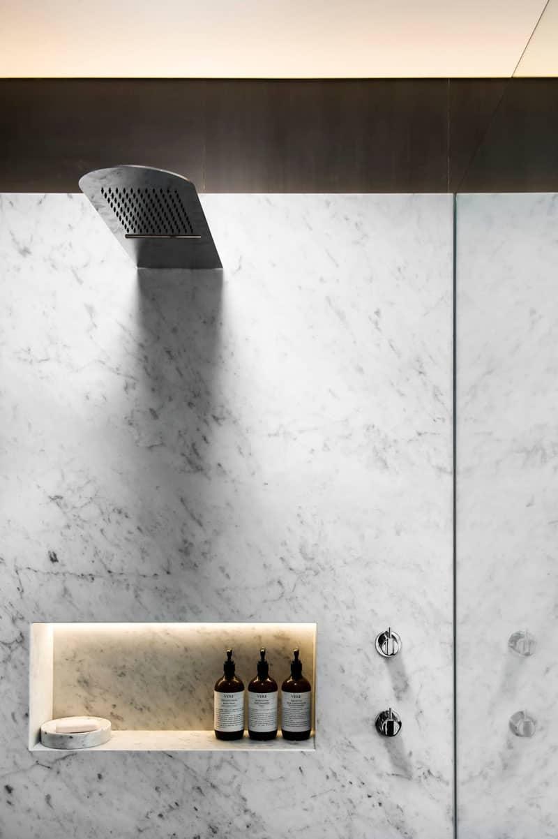 Shower design by Minosa Design.