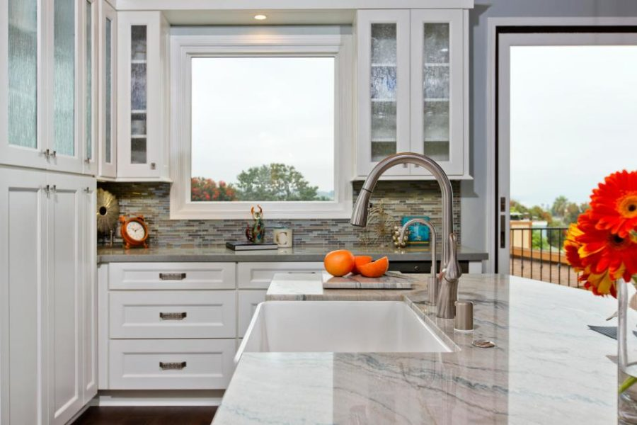 View In Gallery Signature Designs Kitchen With A Thin Sink