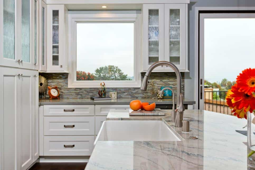Signature Designs kitchen with a thin sink