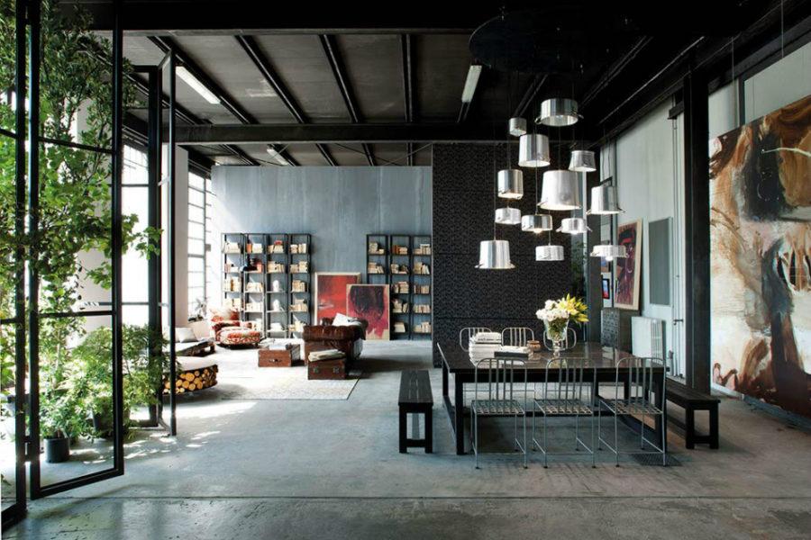 Silvio Stefani collaborated with Minacciolo to create a unique loft in Milan 900x600 Metropolitan Loft in Milan Looks Beyond Unique