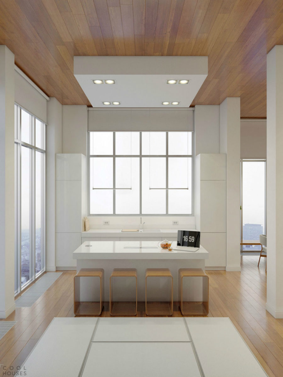 Modern Kitchen Window Ideas In The Nashville Residence By Bonadies  Architect View In Gallery Sleek Kitchen By Anton Medvedev