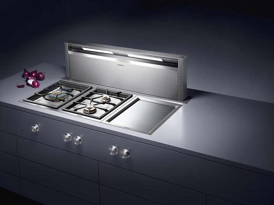 Slide out downdraft AL 400 by Gaggenau 900x674 Unique Kitchen Design Elements to Design a Dream