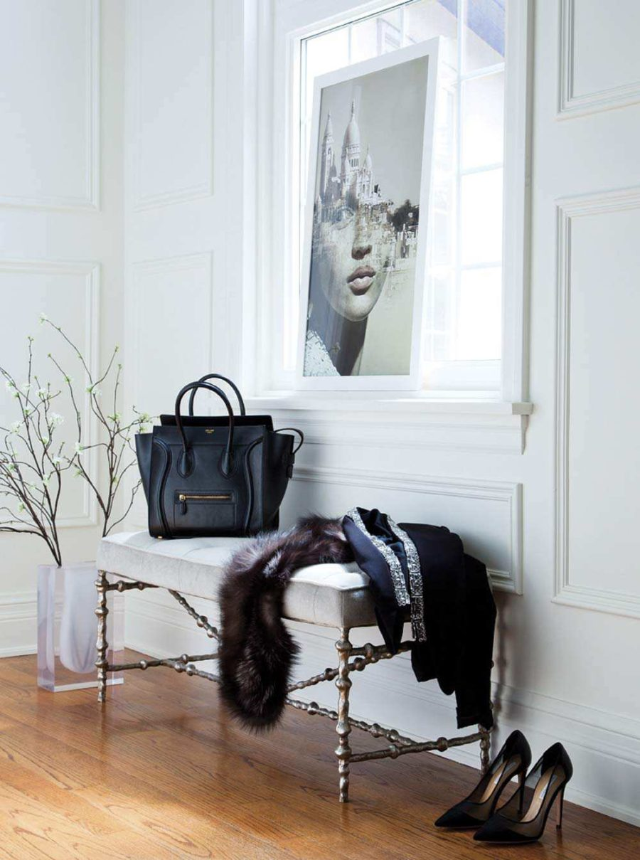 Stylish hallway decor
