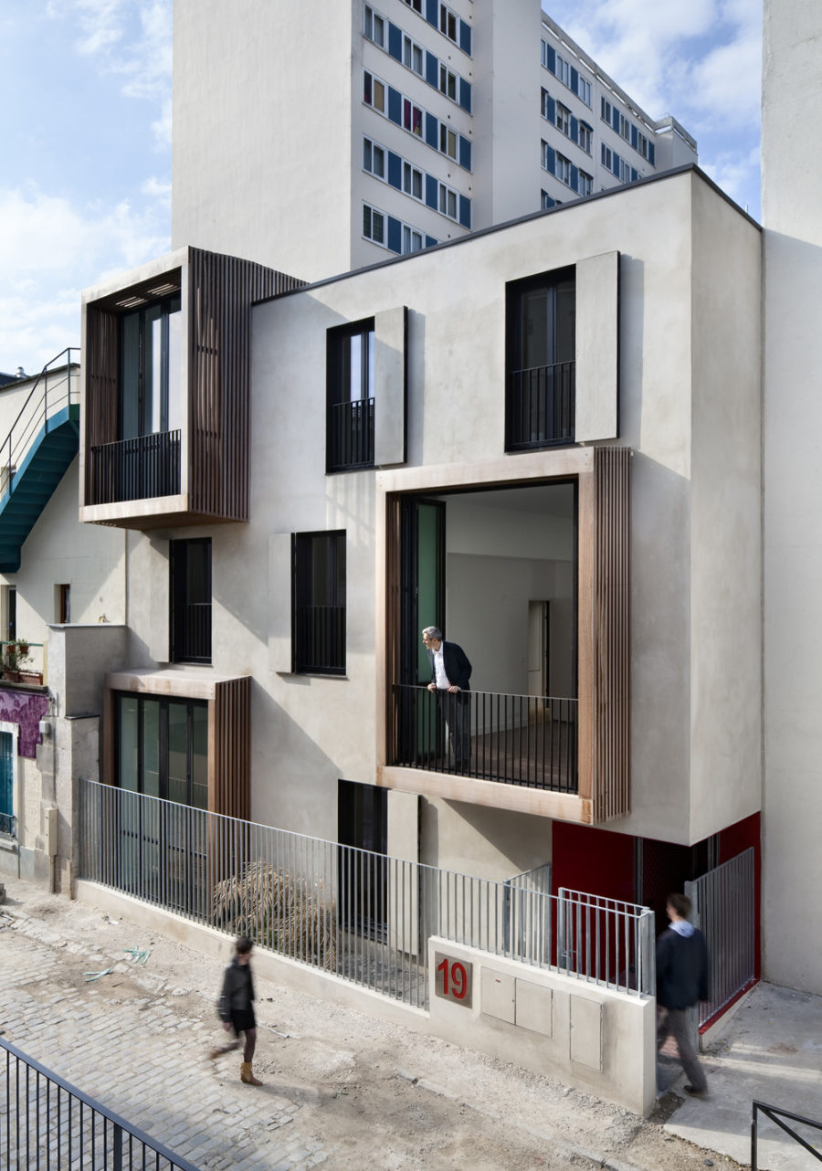 TETRIS Social Housing and Artist Studios