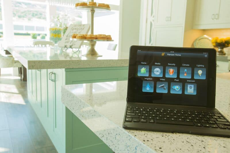 Touchpad interface combines all the features of the smart system
