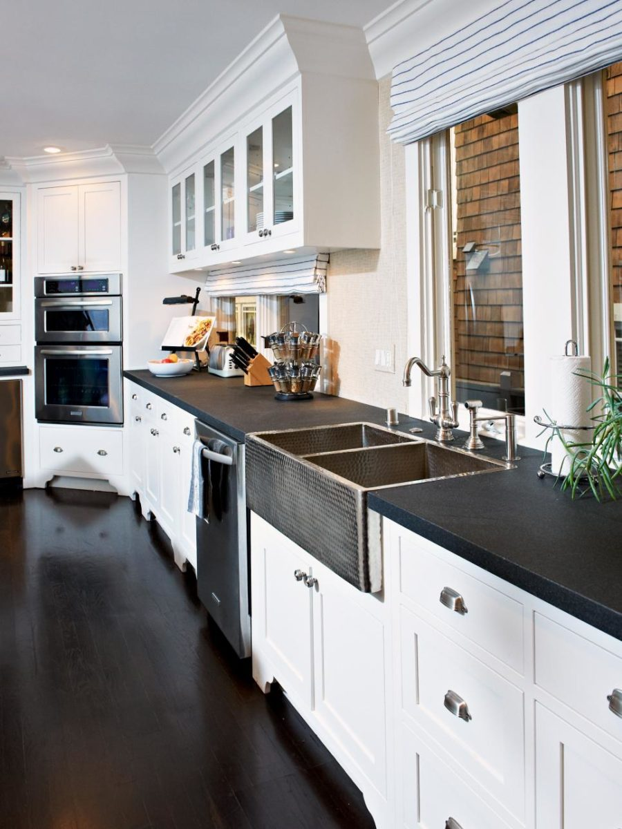 View In Gallery Transitional Kitchen By Kari Arendsen