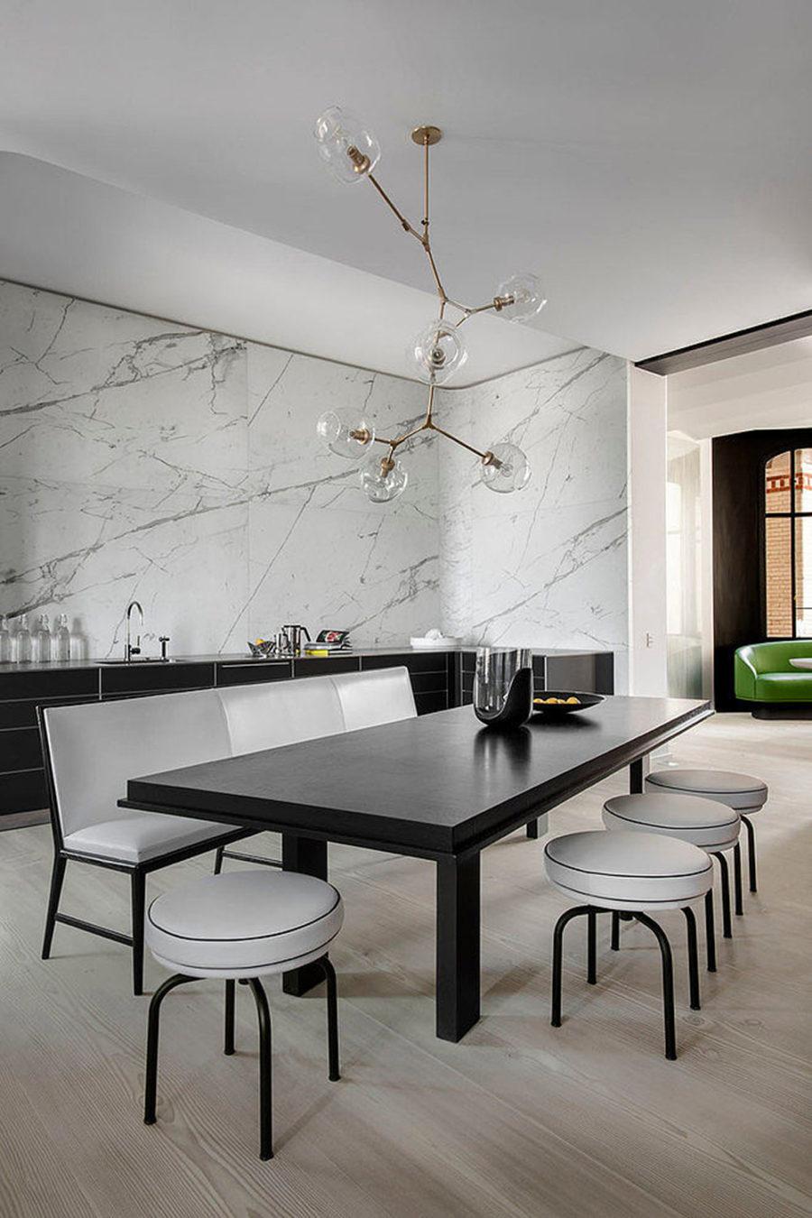 Unique apartment in Paris