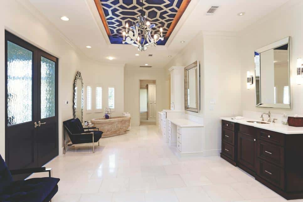 Unique ceiling via John Daugherty, Realtors