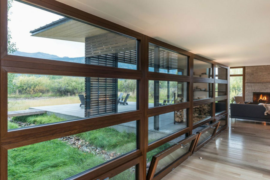 ... Windowed Wall Provides The Main Room With The Views
