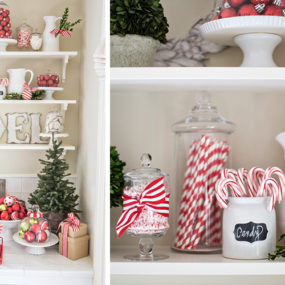 cocoa and candy bar 285x285 23 Ways To Decorate Your Kitchen For The Holidays