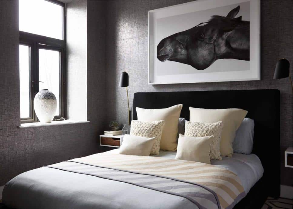 Absolutely cool bedroom by Decor Aid