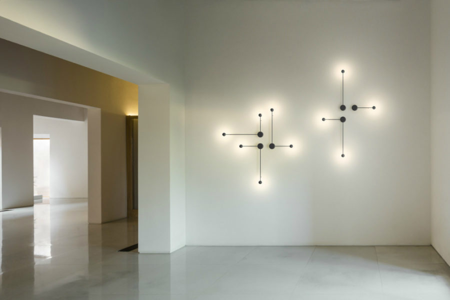 Unique wall lighting in modern designs
