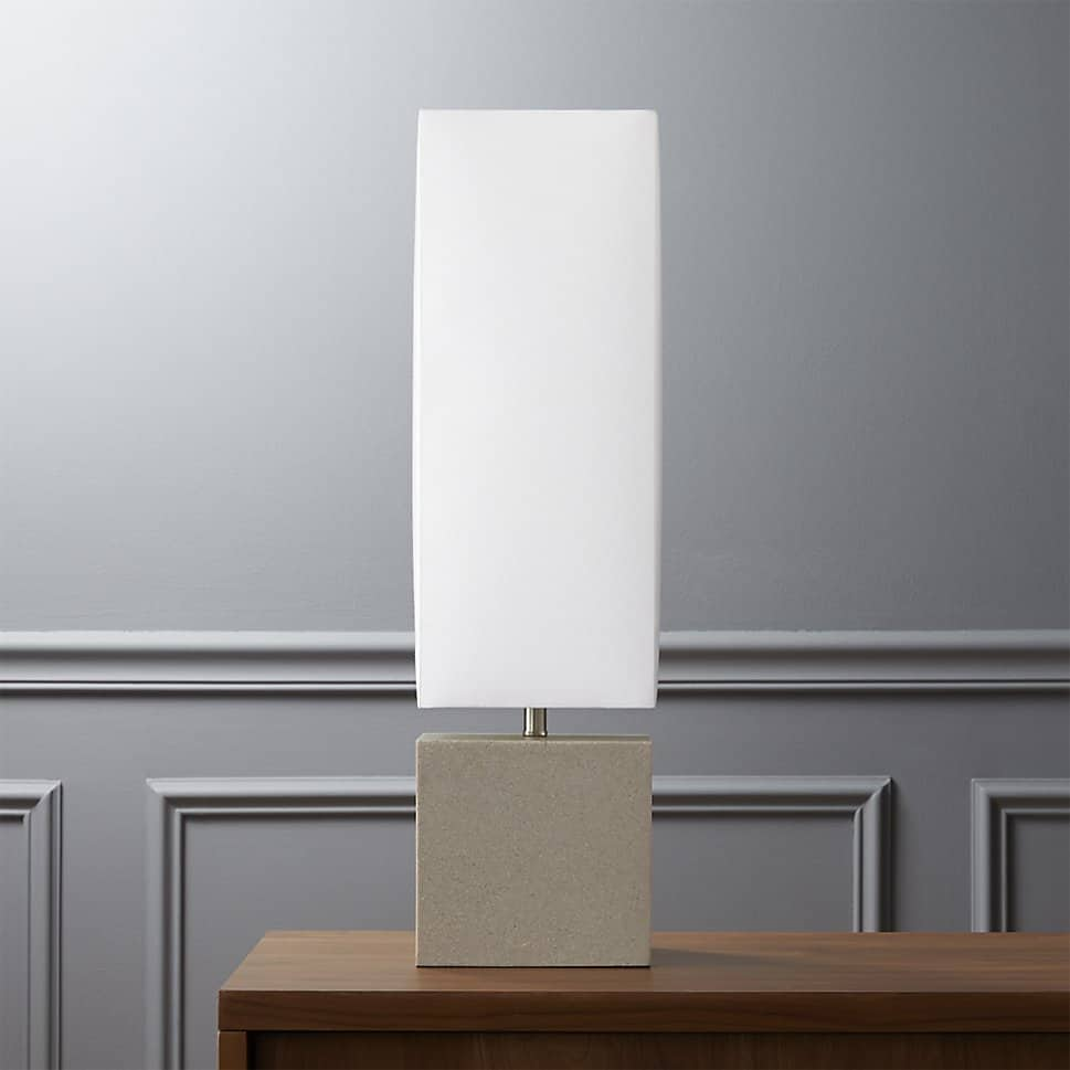 Aggie table lamp by CB2