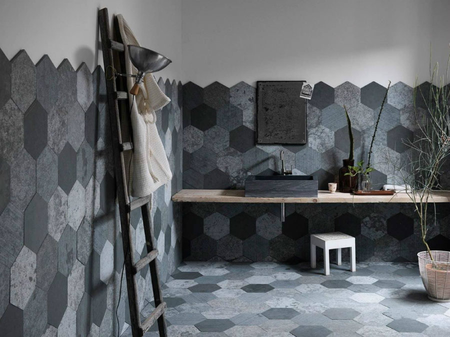 ... Azul Origami Tiles By Artesia 900x674 These Modern Bathroom Tile  Designs Will Inspire The Most Reluctant