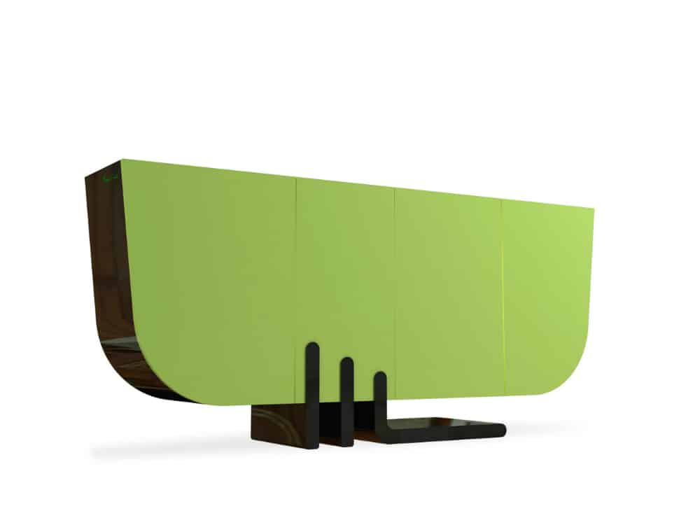 Bahut console by Pierre Cardin Forme
