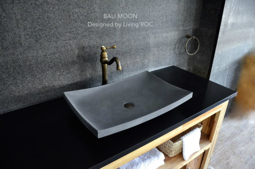 Bali Moon sink by Living'ROC