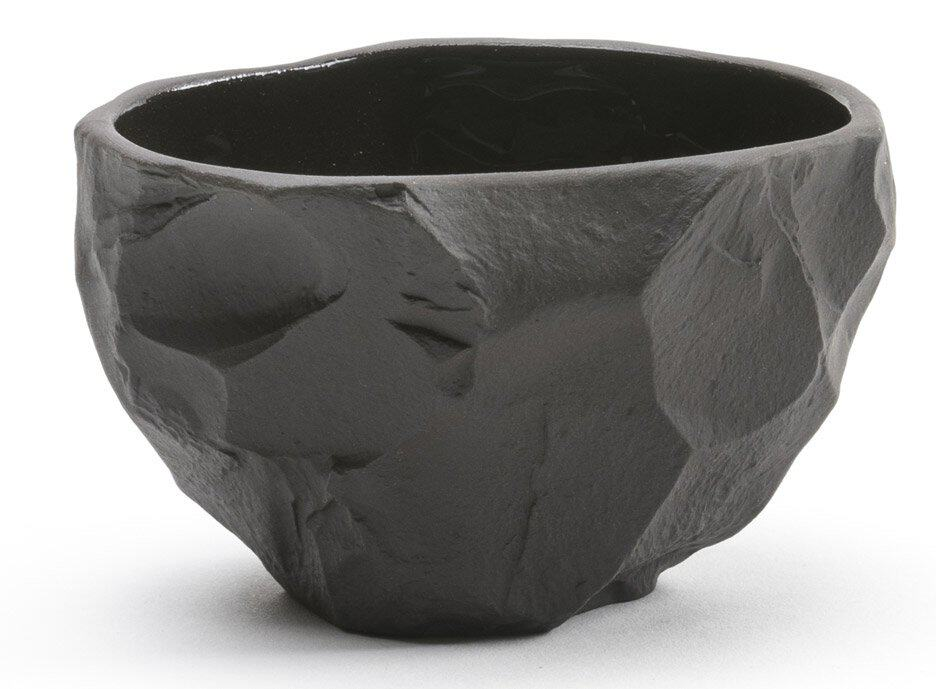 Basalt crockery collection bowl by Max Lamb
