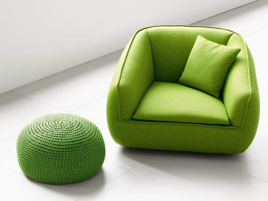 Bask S armchair by PAola Lenti