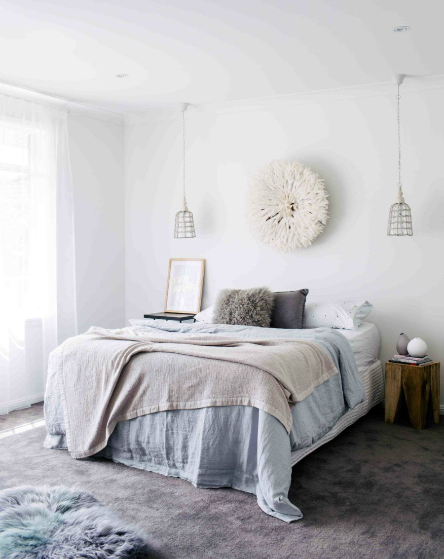 Bedroom by three birds renovations