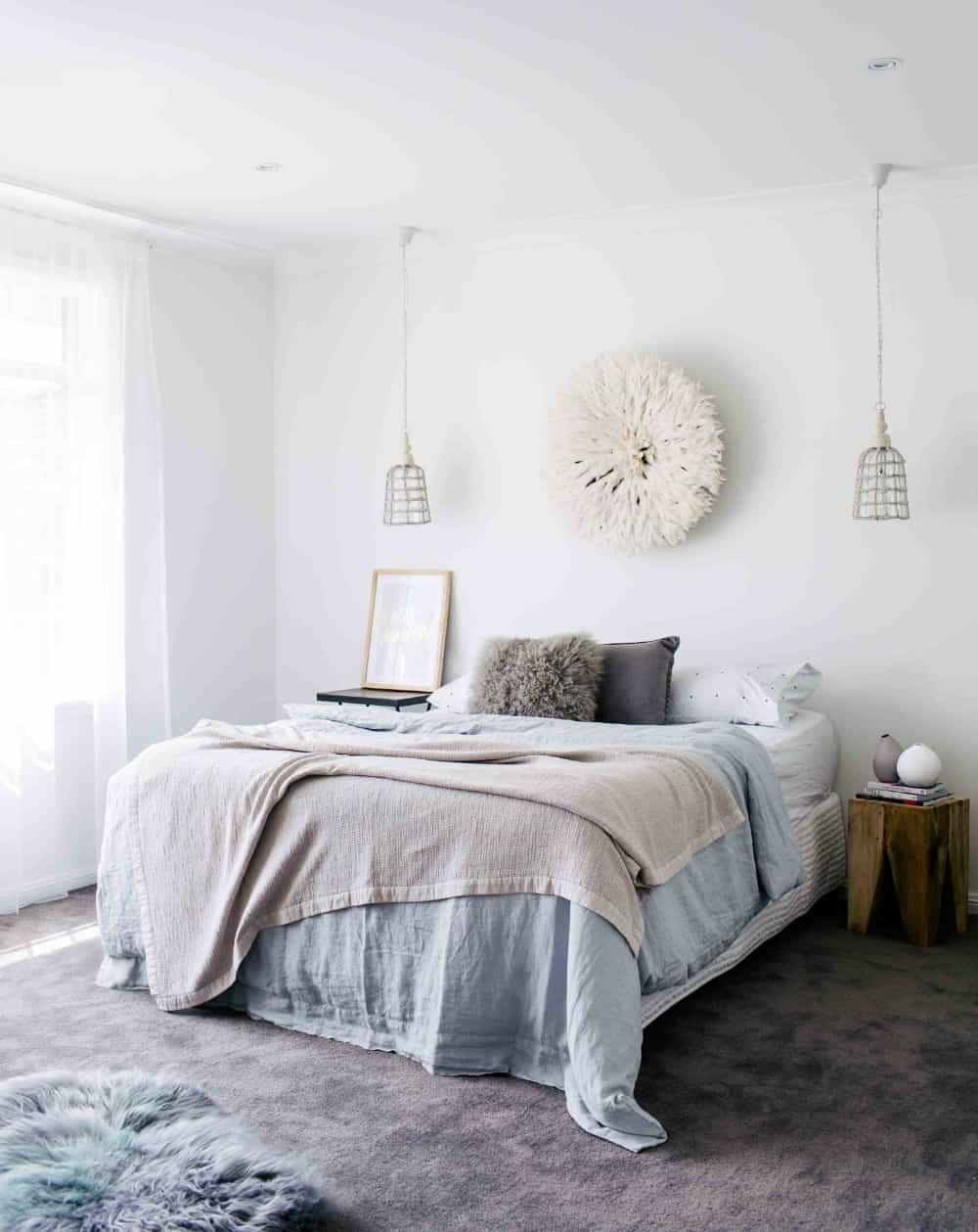 Bedroom by three birds renovations