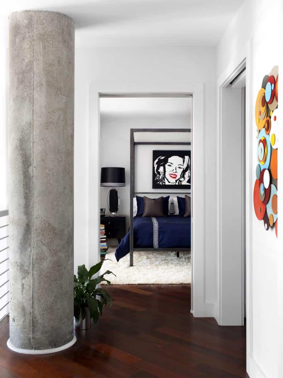Bedroom design by Brian Patrick Flynn
